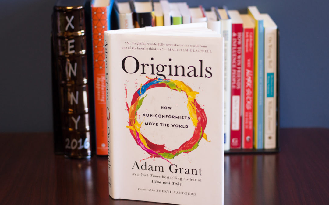 Originals: How Non-Conformists Move the World – Book Discussion